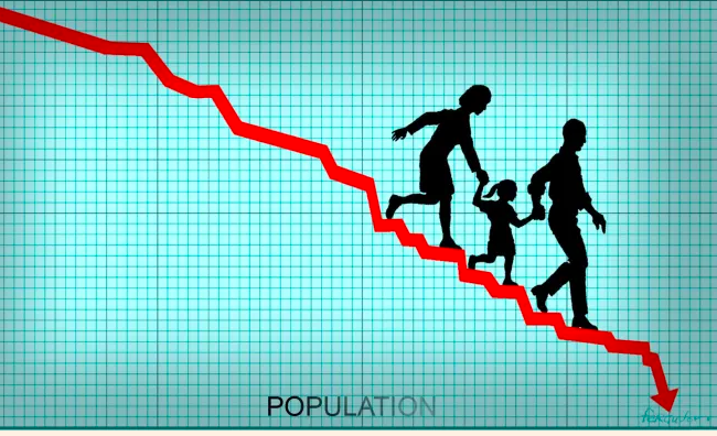 Stunning  News:  Global population could peak at 9.7 billion by 2063